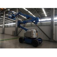Quality Low Power Consumption Electric Articulating Boom Lift 14M 230KG Long Battery Life for sale