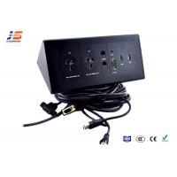Quality HDMI Multimedia Connection Box Electric Tabletop Plug and Socket with Usb Rj45 for sale