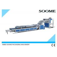 Quality Vacuum Servo Type Semi Automatic Flute Laminator Convenient For Making Surface Paper for sale