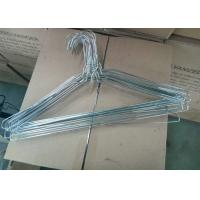 Buy Iron Wire Material Powder Coating Hangers With 1.8mm - 2.3mm Thickness at wholesale prices