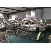 Quality High Heat Efficiency Automatic Wok Machine Electric For Industry / Hotels for sale