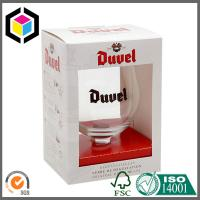Quality Wine Glass Packaging Box with Window; Custom Color Wine Cup Corrugated Box for sale
