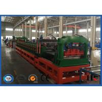 Quality PLC System Steel Corrugated Side Panel Silo Roll Forming Machine High Speed 12-15m / Min for sale