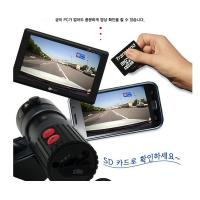 Quality 4GB / 8GB Micro SD Card GPS Dual Channel Car Camcorder Camera With Privacy / Parking Mode for sale