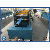 Quality 4kw Rain Gutter Roll Forming Machine For K Style Gutter / Half Round Gutter for sale