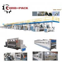 China 2018 hot sale 3/5/7 Ply Corrugated Cardboard Production Line for carton box on sale