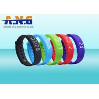 Buy cheap USB Port HF Rfid Tags , Sport Rfid Silicone Wristbands with FM1108 chip from wholesalers