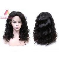 Quality XS Virgin Human Lace Front Wigs Loose Curly Unprocessed Virgin Human Hair for sale