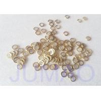 Buy cheap Stainless Steel 304 Mini Wire Mesh Disc With Brass Bound Edge from wholesalers