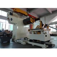 Buy cheap Motor Frequency Changer Control Sheet Metal Decoiler for Non - standard Metal Coil from Wholesalers