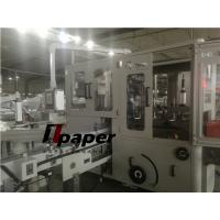 Quality Siemens PLC Automatic Soft Facial Tissue Paper Making Machine with 90 bags/min for sale
