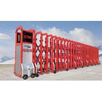 Buy cheap motorised Wireless Remote Control Automatic Folding Gate , Trackless Retractable Gate from Wholesalers