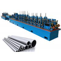 Quality Gearbox Driven Pipe Making Machinery Round Square Rectangle Stable Performance for sale