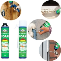 Quality Adhesive Sealant REACH 30kPa 750ml PU Foam Spray for sale