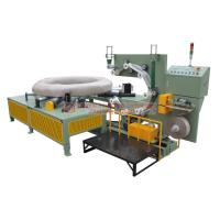 China High Speed Steel Wire Coil Packing Machine Stable Performance With Labeling Function on sale