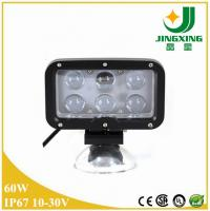 China CREE LED Work Light/led spot light/60W 9-40v led work light for truck, forklift, tractor on sale