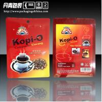 Quality Aluminum Foil Three Side Seal Coffee Packaging Bags Ziplock Stand Up Pouches for sale