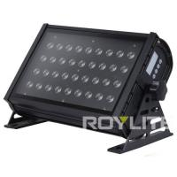 Quality 36 x 3w Tri RGB 3 In 1 LED Wall Wash Light DMX Control LED Fixture for sale