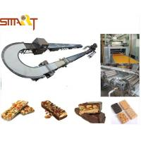 Quality CE ISO Cereal Bar Making Machine For Chocolate Coating Energy Candy Bar for sale