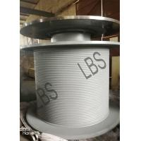 Quality Steel LBS Grooved Drum with Brake Disc for Tower Crane/Large Winch Drum for sale