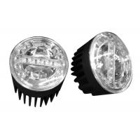 China Brightness Round 90mm LED Fog Light For trucks / Cars / Motorcycles on sale