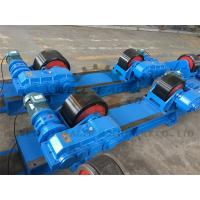 Quality Rotary Capacity 40 Ton Tank Turning Rolls / Conventional Welding Rotator for sale