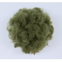 Quality Reliable PET Staple Fiber 3D*32MM Superfine Microfiber Antipilling And Anti Napping for sale