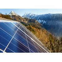 Quality Blue 72 Cell Solar Power Panels , Off Grid Solar Modules Customized Size for sale