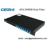 Buy 100Ghz DWDM 8 Channel Multiplexer and Demultiplexer in unit dual fiber at wholesale prices