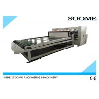 Quality Electrical Thin Blade Slitter Scorer Machine , Automatic Slitting Creasing Sheet Cutting Machine for sale