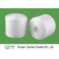 Quality 2/60S Plastic Cone Spun Type High Tenacity Bright Virgin Polyester Yarn High Twist For Sewing Thread for sale