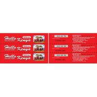 Quality Paper Multi-pin Scratch Calling Card for sale