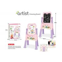 Quality Toddlers Arts And Crafts Toys Magnetic Drawing Boards W / Stand 2 Sides Painting for sale