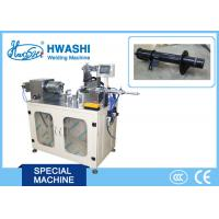 China Electric Box Automatic Welding Machine Hwashi Stainless Steel With Auto Rotaty Feeder on sale