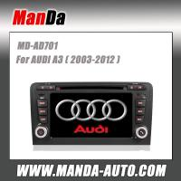 Quality 2 din car gps navigation for AUDI A3/ S3/ RS3 (2003-2012) car audio manufacturer for sale