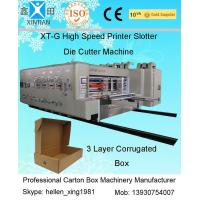 Quality High-speed Pringting Slotting Die-cutting Carton Machines for sale