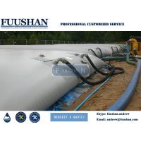 FUUSHAN PVC or TPU Tarpaulin Collapsible and Flexible Pillow Water Tanks of 100 000 liters