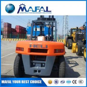 China MAFAL original Factory 10 Ton electric  diesel All Terrain Rough Terrain Forklift on sale