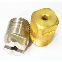 Buy cheap high quality structure standard flat fan spray nozzles from wholesalers
