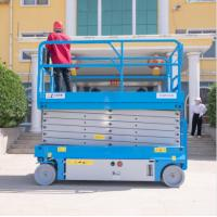 Buy cheap Self Propelled Hydraulic Scissor Lift 2.76*1.25*2.6m from wholesalers