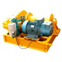 Quality Yuantai Easy Operated 10-100Kn Jkd Electric Winch Block With Imported Electrical Part for sale