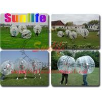 Quality inflatable soccer ball, bumper ball for sale