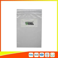 Clear Plastic Resealable Zip Lock Pouch Bags For