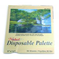 Quality Square Disposable Palette Acrylic Artist Paint Pad 12 X 16'' / 9 X 12' Size for sale