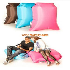 2016 most popular inflatable sleeping bag, inflatable hangout bag, inflatable lay's bag
