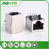 KRJ-017NL shielded rj45 connector with transformer