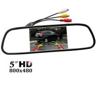 China Easy Installation Car Rear View Mirror Monitor 5 TFT - LCD Display Screen on sale