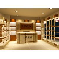 China Various Shapes Shoe Store Display Shelves / Footwear Display Stands Any Color Available on sale