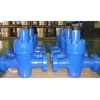 Quality 4 1/16 - 10M,  HP Manual Gate Valves API6A EE PSL3G PR2 U C/w ss/ Inconel 625ring grooves for sale
