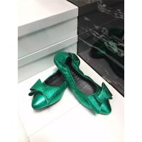 Quality high quality green cow hide shoes fashion shoes dress shoes women shoes pointed shoes foldable flat shoes BS-13 for sale